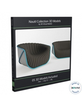 nautil-furniture-roche-bobois-3d-sofa-armchair