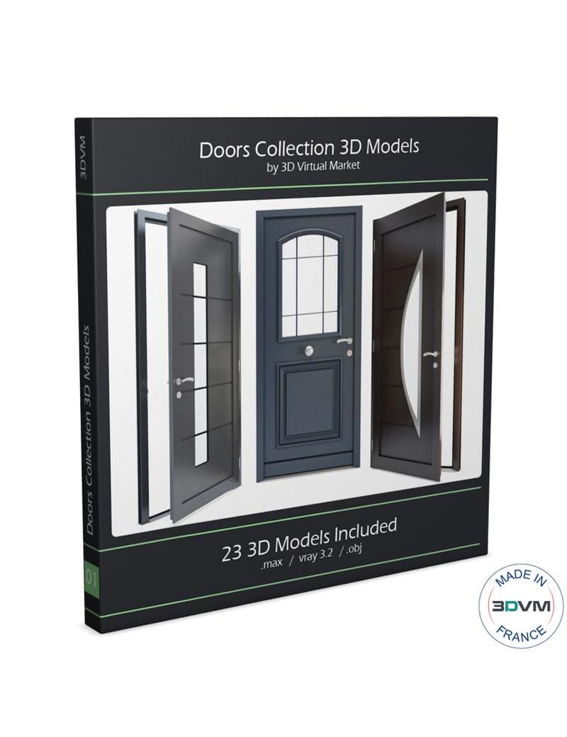 doors-collection-3d