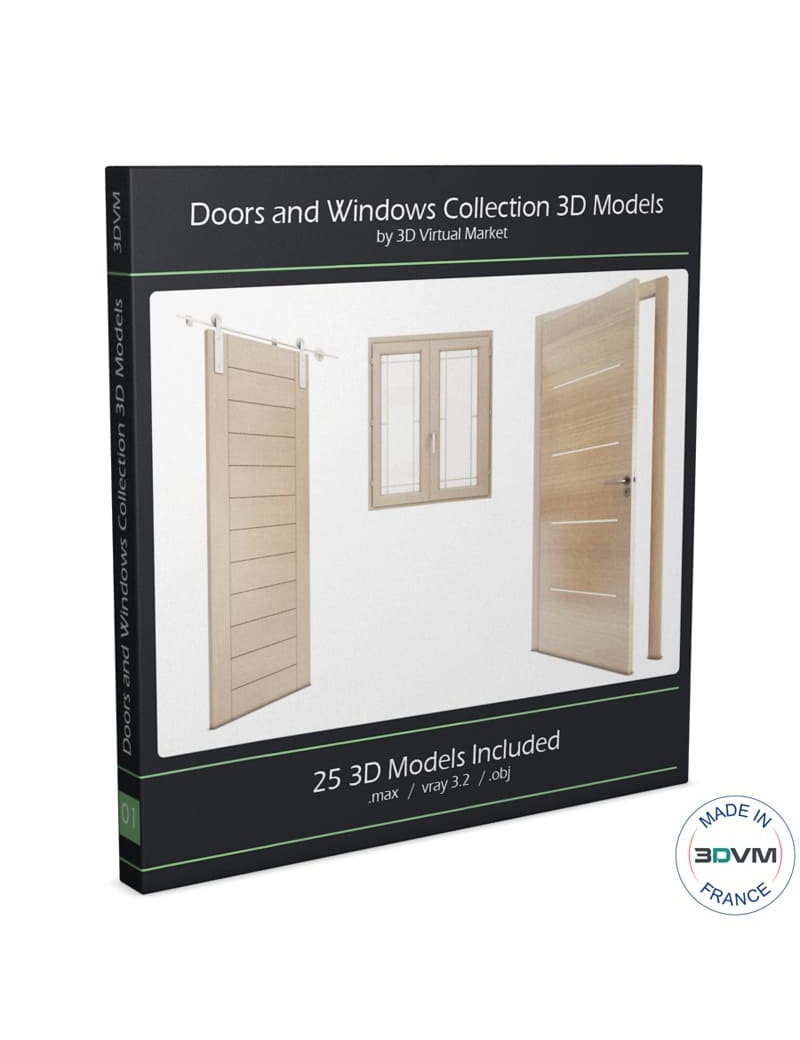 collection-3d-de-portes-et-fenetres-3d