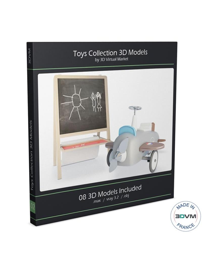 collection-de-jeux-d-enfants-3d