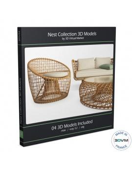 mobilier-exterieur-nest-cane-line-3d-tressage-rotin