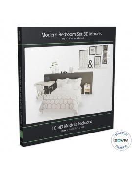 modern-bedroom-set-3d