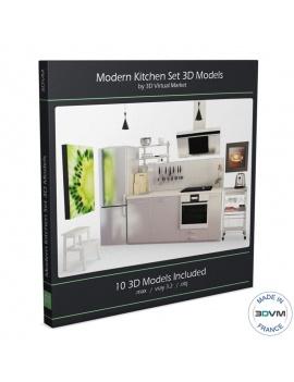 cuisine-moderne-et-electromenager-3d