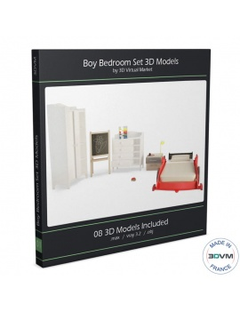 boy-bedroom-race-car-3d