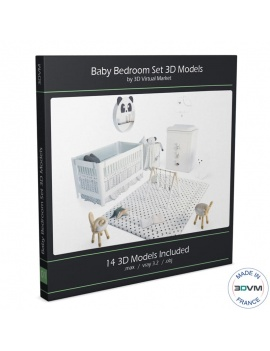 baby-white-bedroom-set-3d-complete