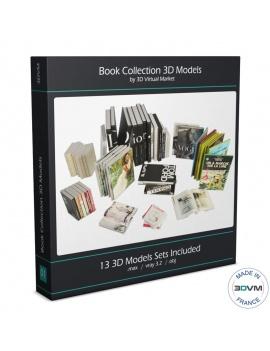 collection-3d-de-livres-et-magazines