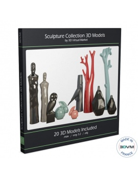 modern-sculpture-collection-3d