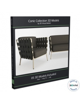 collection-3d-mobilier-tresse-conic