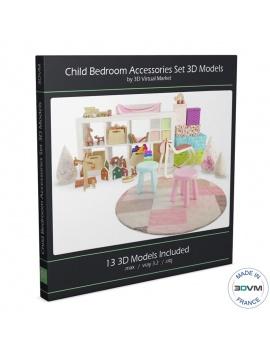collection-accessoires-chambre-enfants-3d