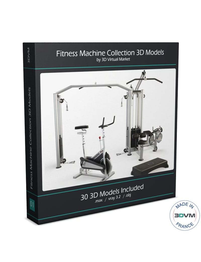 collection-3d-de-machines-de-musculation-modele-3d