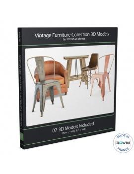 collection-3d-de-meuble-vintage
