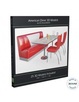american-diner-3d