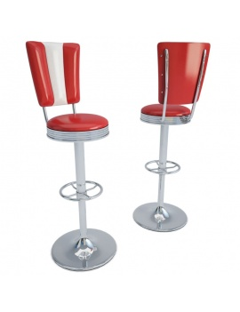 american-diner-3d-chair-stool