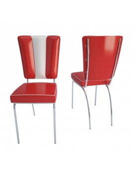 american-diner-3d-chair
