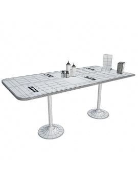 american-diner-3d-table