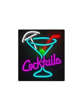 american-diner-3d-neon-lights-cocktail