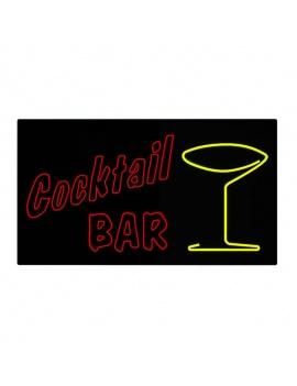 american-diner-3d-neon-lights-cocktail-bar