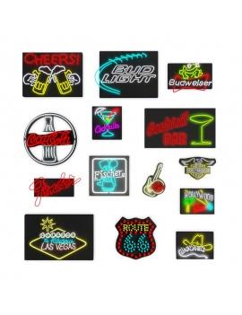 american-diner-3d-neon-lights