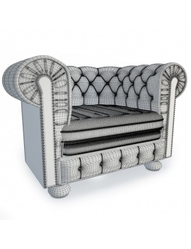 furniture-leather-chesterfield-3d-armchair-wireframe