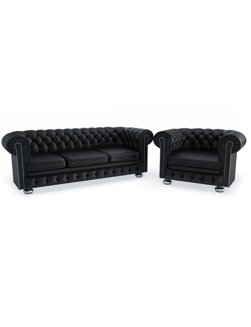furniture-leather-chesterfield-3d