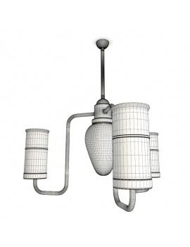 collection-de-luminaires-antiques-3d-suspension-cylindrique-filaire