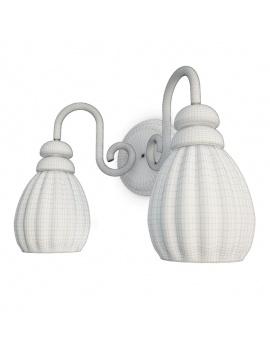 collection-de-luminaires-antiques-3d-applique-filaire