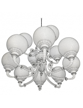 antique-lights-collection-3d-pendant-light-brasserie-wireframe