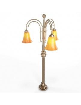 collection-de-luminaires-antiques-3d-poteau-atlgpl14
