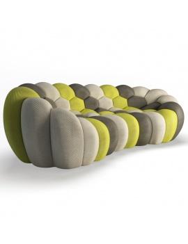 bubble-sofa-3-seats-3d-model