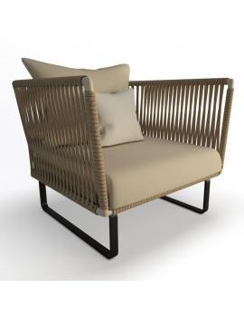 collection-3d-de-mobilier-tresse-bitta-fauteuil