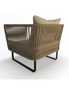 collection-3d-de-mobilier-tresse-bitta-fauteuil-dossier