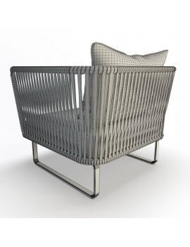 collection-3d-de-mobilier-tresse-bitta-fauteuil-dossier-filaire