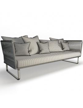 mobilier-exterieur-bitta-kettal-3d--canape-3places-filaire
