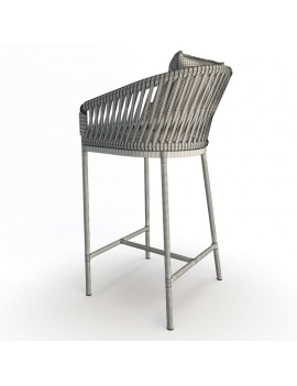 bitta-outdoor-furniture-kettal-3d-barstool-back-wireframe