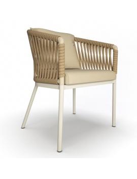 chaise-de-jardin-tressee-bitta-3d