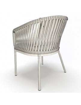 garden-chair-bitta-kettal-3d-backrest-wireframe