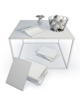 coffee-table-and-decoration-3d-wireframe