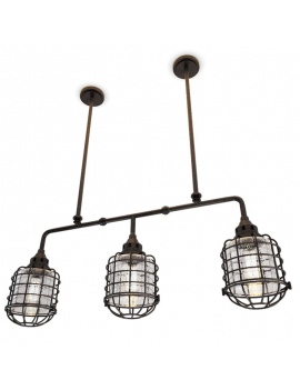 suspension-industrielle-trio-connell-3d