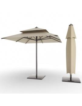 collection-piscines-et-accessoires-d-exterieur-3d-parasols