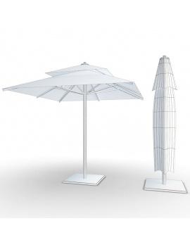 collection-piscines-et-accessoires-d-exterieur-3d-parasols-filaire