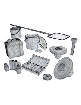 collection-piscines-et-accessoires-d-exterieur-3d-accessoires-filtration-filaire