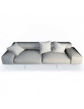 wing-design-sofa-2-seaters-flexform-3d-wireframe