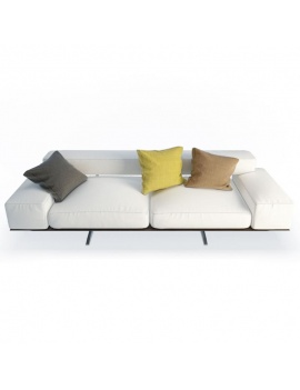 wing-design-sofa-2-seaters-flexform-3d