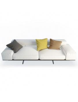 wing-design-sofa-2-seaters-flexform-3d