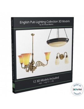 antique-lights-collection-3d