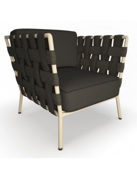 conic-fabric-armchair-3d