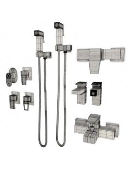collection-mobilier-et-accessoires-salle-de-bain-3d-mitigeur-acron-filaire