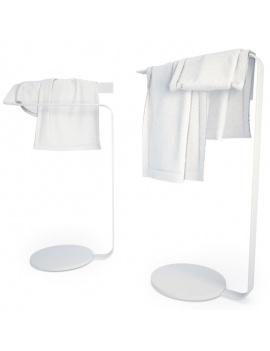 collection-mobilier-et-accessoires-salle-de-bain-3d-porte-serviettes-concept