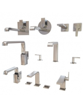 bathroom-furniture-and-accessories-3d-faucet-mixer