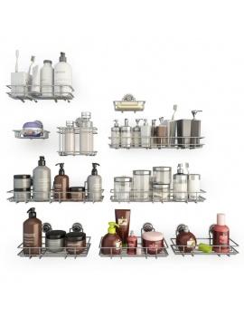 collection-mobilier-et-accessoires-salle-de-bain-3d-etageres-savon-2